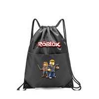 Printed Robloxing Waterproof School Bag Game Nylon Student College Style Backpack Men's And Women's Casual Custom