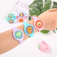 Charm Armbanden Zomer Kind Anti-Mosquito Siliconen Sieraden Leuke Cartoon Dierlijke Accessoire Armband Voor Baby Outdoor Manchet Boho