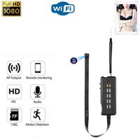 DIY WIFI MINI CAMIONE 1080P HD Cámara inalámbrica HD de video Video VideoVoice Grabación Micro Camcorder Teléfono Monitor remoto