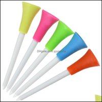 Tees Sports & Outdoors8M5 Color Seat Tee Ball Support Head Double Soft Plastic Golf Needle Drop Delivery 2021 Rdnit