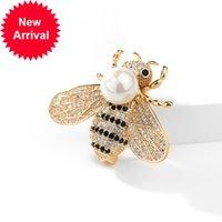 Versão coreana do novo moda Personalidade Bee Broche Broche Enamel Pin Broches para Mulheres Cute Pins