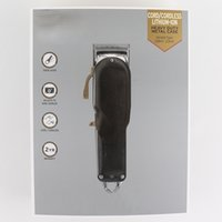 أرخص كبار السحر الأسود الكهربائية مجز الشعر الشعر المتقلب آلة قطع الحلاقة للرجال أدوات نمط جديد التعبئة والتغليف المحمولة اللاسلكي
