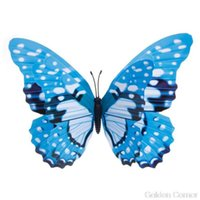 Butterfly Fairy colorido Na Vara ornamento Início Jardim Vaso Lawn Art Craft Decor O23 20 Dropshipping Q0811