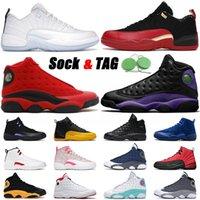 nike air jordan retro 12 13 2021 Basketbol Ayakkabıları Düşük Paskalya Jumpman Bekarlar Günü Mahkemesi Mor Erkekler Kadınlar Büküm Eğitmenler Spor ayakkabılar 36-47