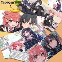 Fare Pedleri Bilek Dinlenmek Yukinoshita Yukino Büyük Oyun Pedi XL Kilitleme Kenar Boyutu Masa Mat CSGO Oyun Oyuncu Masaüstü PC Bilgisayar Dizüstü