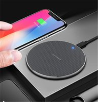 K8 10W Qi Wireless Charger For 12 11 Pro Xs Max X Xr Fast Wireless Charging Pad For Samsung For huawei