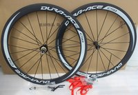 Dura ACE C50 700C Racing Vélo Roues en carbone de 50 mm Carbon Road Bike WheelSet CLINCHER 23MM Largeur avec surface de frein de basalte