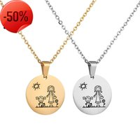 Necklace Mother's Day Series Popular Jewelry Fashion Versatile Round Brand Mother And Daughter Clavicle Chain Diy Lettering