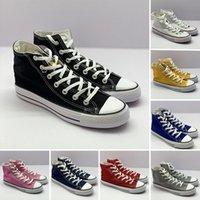 Klassische 1970er Jahre Canvas Freizeitschuhe Star Schwarz Weiß Luxurys Plateau Vintage Sneakers Marineblau Flache Designer Loafer Sport 36-44