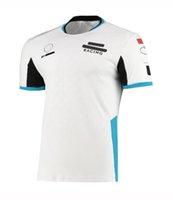 2021 Co-Markalı F1 Takım Ekibi Üniformaları Özelleştirilmiş Logo Gevşek Rahat Çabuk Kuruyan Nefes Kısa T-shirt Formula 1 Büyük Boy Araba Hayranları Motosiklet T-shirt