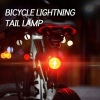 Bike Lights Bicycle Accessories Tail Light Helmet USB Rechargeable Warning Running Shoulder
