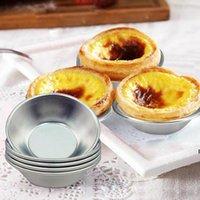 Cozinha ferramentas de ovo tortas molde 7cm forno assar redondo creme de estanho bolo cupcake arroz diy ferramenta de cozimento hwb7024
