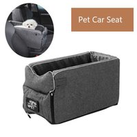 Dog Car Seat Bed Travel Pet Booster Seats for Small Large Dogs Safety rier Hammock Transport Basket Accessories H0929