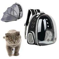 الكمبيوتر القابل للتوسيع القط حقيبة الظهر المحمولة pet جرو السفر في الهواء الطلق ناقل ناقل القطط حقيبة الملحقات ناقلات، صناديق المنازل