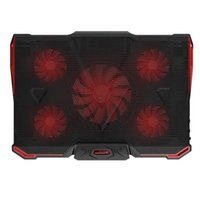 - laptop Cooler Cooling Pad With Silence 5pcs LED Fans USB 2....