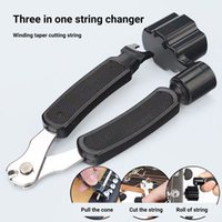 Guitar Tuning Tool 3 In 1 Stringed Instrument Accessories Guitars String Cutter Pin Puller String Clamp Remover