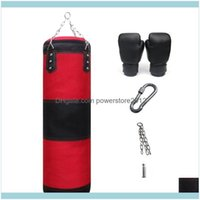 Sand Supplies Sports & Outdoorsboxing Punching Training Fitness Gym Hanging Heavy Kick Sandbag Body Building Equipment Exercise Empty-Heavy