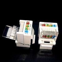 CAT6 cat5e Network Module Information Socket RJ45 Connector Adapter Keystone Jack