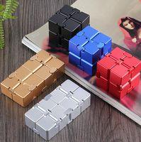 2021 Pop Fidget designers toy infinite new's strange rubik's cube aluminum alloy decompression toys
