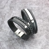 Link, Chain Bracelet For Men Men's Titanium Steel Braided Rope And Women Couples Fashion Gifts