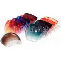 IN STOCK Gradient Color Protective Faceshield Mask With Glasses Frame Transparent Full Face Cover Anti-fog Face Shield Clear Designer Masks SE8