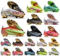 2021 Men VA Pors Xiv 14 360 Elite FG Dragonfly Scarpe da calcio CR7 110 km10 Ronaldo New Season Impulse Pack MDS 004 Donne basse Bambini Boots Boots Tacchetti taglia 39-45
