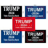 Trump Flag 2024 U.S. 36 Styles 90*150cm Presidential Campaign Sticker flags Donald Car Bumper Stickers FHL373-WY1553