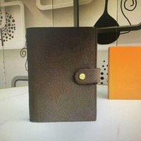 Donne Designer Designer Borse 2021 Crossbody Medium Agenda Blocco note copertina Bianco carta Notebook Office Viaggio Diario Diario Diario Diario Notitolo Blocco note 6 Slot titolare della carta di credito