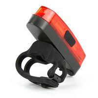 5 Modi Bike Light USB wiederaufladbare Fahrräder Schwanz LED Rücklicht Sicherheit WARNUNG Radfahren Hintere Schwänze Lichter Fahrrad Zubehör