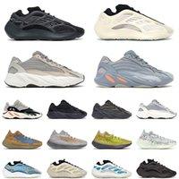 kanye west 700 v2 Boost yeezy 380 boost été Noir Blanc Hommes Chaussures De Course Crème Zèbre Rouge Femmes Mode Sport Baskets 36-45