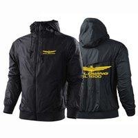 Honda Hoodies Honda Goldwing Outono inverno cor sólida cor hoodies Mens Europeu estilo americano hip hop hoody jaqueta