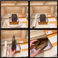 M80746 Pocket Bowhide Pocket Pocket Bag Phone Utility Borse a tracolla Multi Designer Body Flap Cross Vintage Genuine Luxurys Borse Catena Wom Qkje