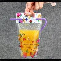 أكياس التخزين 500 ملليلتر سستة الحقائب البلاستيكية شرب الثقيلة المحمولة شفافة متجمد حقيبة الاستعادة كيس vrchj bmltb