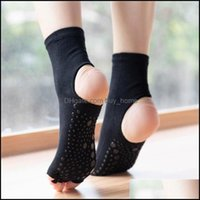 Athletic Outdoor As Sports & Outdoorssports Socks Women Yoga Anti-Slip Quick-Dry Dam Pilates Ballet Good Grip For Five Fingers Fitness Cotto