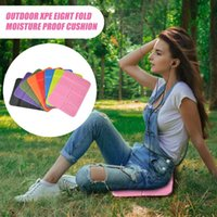 Outdoor Pads Foldable Travel Picnic Mat Cushion Soft Folding Moisture-proof Camping Hiking Portable Seat Pad Waterproof