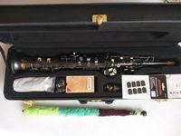 جودة عالية Yanagisawa S-901 ساكسفون الآلات الموسيقية الأعلى ب سوبرانو ساكس ماتي الأسود الأداء المهنية مع القضية