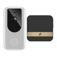 D1 Video Doorbell Camera 720P Wireless WiFi Smart Night Vision PIR Motion Detector+Indoor buzzer Exquisite retail packaging