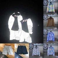 21ss Erkek Bayan Tasarımcılar Ceketler Casual Hiphop Rüzgarlık Yansıtıcı Güneş Kremi Ceket Klasik Giysi Marka Adam S Giyim Severler Spor Coat2555