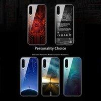 Handy-Beutel Temperiertes Glaskasten für Huawei-Ehre HINWEIS10 All-inclips Anti-Knock-Schutzkanten Silikon V20 V8