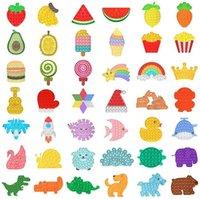 Decompression Toy Bubble Fidget Toys Sensory Ring Bracelets Puzzle Press Finger Bubbles Stress Bracelet 300pcs