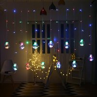 문자열 LED 다채로운 소원 공 방수 문자열 조명 홈 커튼 크리스마스 결혼식 장식 조정 가능한 장식