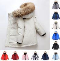 Designers Mens winter canada grey canadas black goose down coat label canadian men women outerwear overcoat coats fur Jacket downs