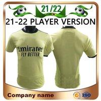 Arsen Player الإصدار 21/22 Gunners Soccer Jersey 2021 Pepe Xhaka Ceballos Henry Smith Rowe Willian Tierney Odegaard Saka Thomas كرة القدم قميص