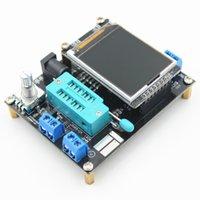 Multimeters GM328A Генератор Транзистор Тестер Тестер Резистор Оригина Резистор ESR Частота диода Емкости Простая работа ЖК-дисплей PWM