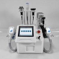 2021 Portatile Cryolipolysis Fat Congelamento del grasso macchina dimagrante sottovuoto Adipose Riduzione Cryoterapia Cryo Perdita di peso LLLT Lipo Laser uso domestico