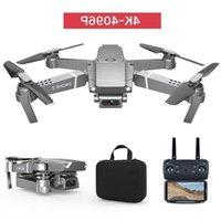 E68 4 K HD Kamera Wifi FPV Mini Acemi Drone Oyuncak, Simülatörler, Track Uçuş, Ayarlanabilir Hız, Yükseklik HOLD, GESTURE Fotoğraf Quadc