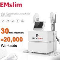 携帯EMSLIMの整形電磁筋刺激装置機械お尻軽減筋肉駆動体輪郭を刺激する