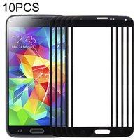 Panneaux 10 PCS Ecran avant Verre extérieure pour Samsung Galaxy S5 G900