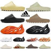 Adidas Kanye Flip Flop Batı Yeezy Yeezys Yeşilzy Yezzys Runner Terlik Sıcak ImitiKanye Slayt Sandalet Sokak Stili
