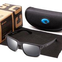 Marca Gafas de sol Hombres Conducción Sombras Cuadradas Gafas de sol para Hombre Vintage TR90 Accesorios para gafas polarizadas Pesca UV400